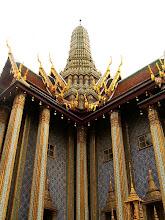 Photo: Bangkok, Wat Phra Kaew, the Royal Pantheon