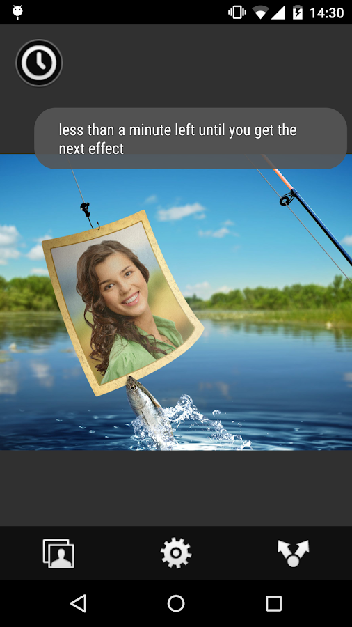 Photo Roulette Widget - screenshot
