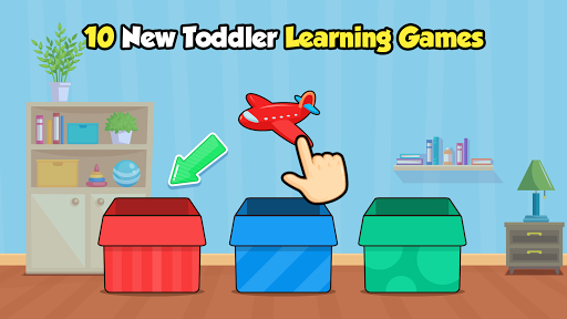 Toddler Learning Games for 2, 3 year olds Ads Free 6 screenshots 1
