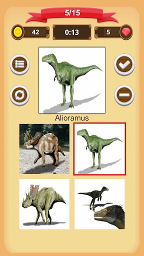 Dinosaurs Quiz apkmind screenshots 2