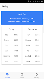 London Prayer Times- screenshot thumbnail