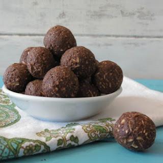 Avocado Chocolate Balls.