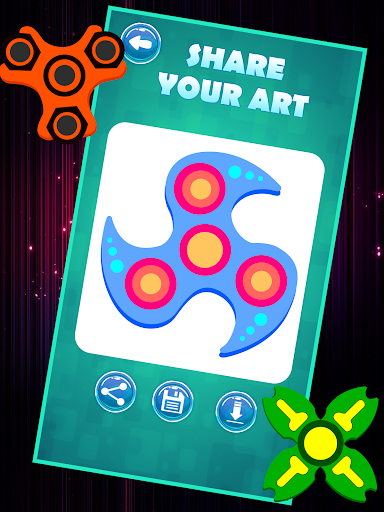 Fidget Spinner Coloring Book Apk 19