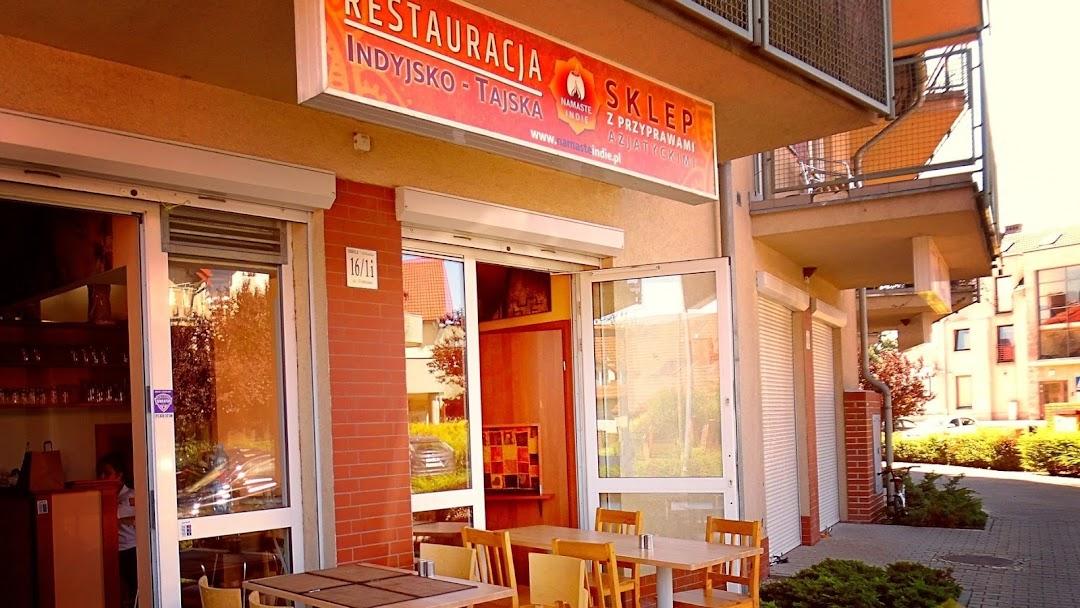 Namaste Indie Restauracja Indyjsko Tajska Kuchnia Indyjska W Bielany Wroclawskie