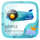 Simple Weather Widget Theme