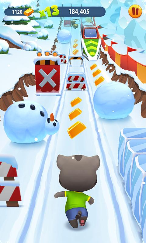 Talking Tom Gold Run- screenshot