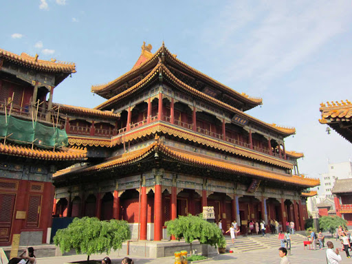 Beijing-Yonghe-Temple - The Yonghe Temple in Beijing is also known as the Palace of Peace and Harmony Lama Temple.