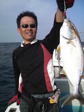 Photo: こちらもネリゴ! ヒラスを釣りたい。 ・・・船頭もヒラスを見たい!