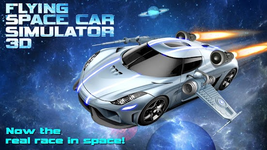 Flying Space Car Simulator 3d Android Apps On Google Play
