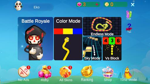 Télécharger Bataille de serpent: mode couleur APK MOD (Astuce) screenshots 1