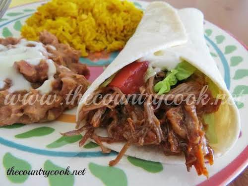 """Crock Pot Mexican Shredded Beef """"Made this tonight and it was delish!..."""
