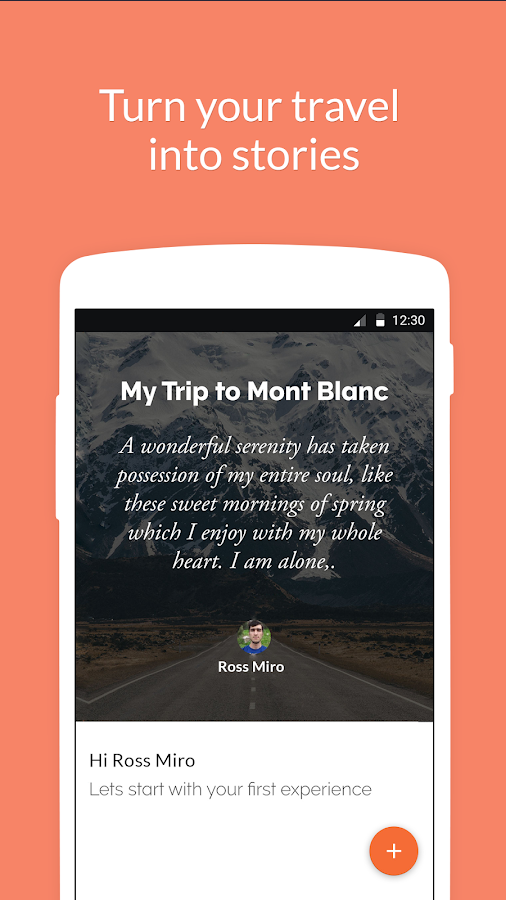 Campture Your Travel Journal (Unreleased)- screenshot