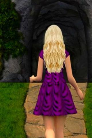 temple frozen princess run