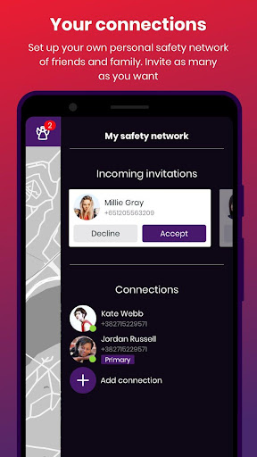 bSafe - Personal Safety App 3.7.52 screenshots 5