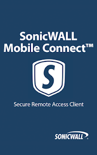 SonicWALL Mobile Connect- screenshot thumbnail