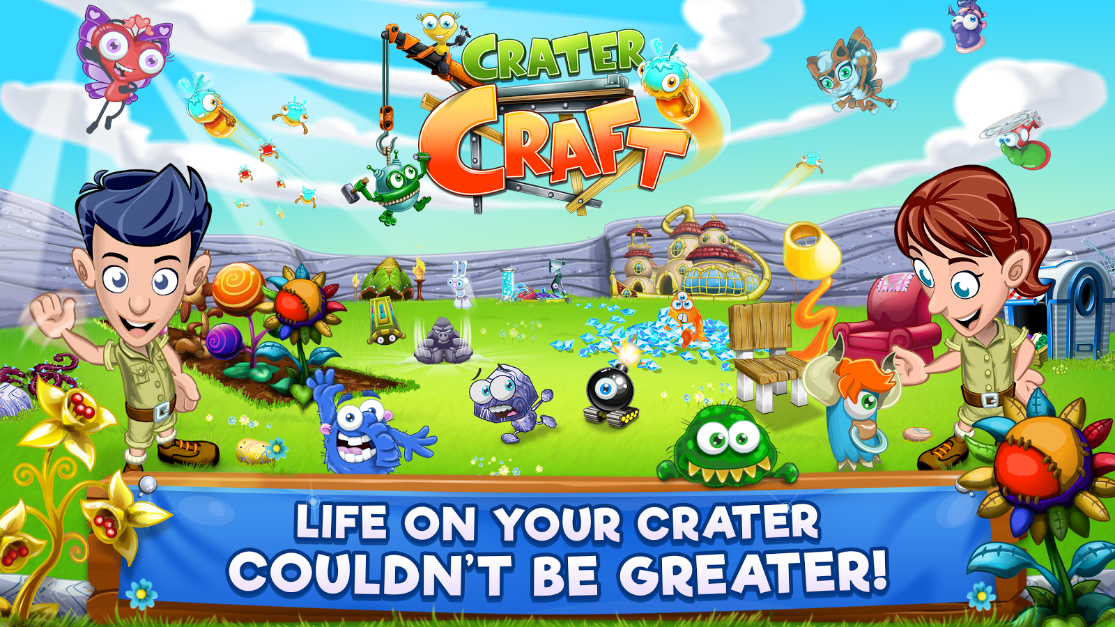 Crater Craft- screenshot