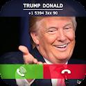 Donald Trump Fake Call Prank icon