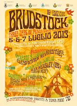 Foto: Festival di Brudstock. 3 giorni di pace, amore e musica. 5-6-7 luglio 2013 a Vigonovo di Fontanafredda (PN).