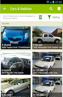 Screenshot of Gumtree South Africa