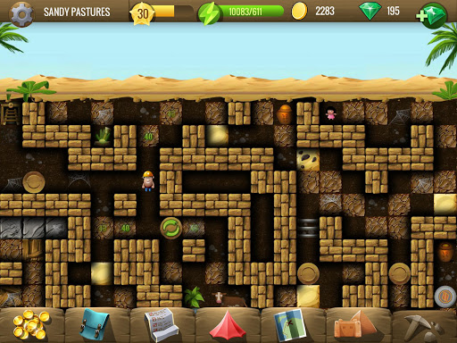 Diggy's Adventure: Escape this 2D Mine Maze Puzzle - screenshot