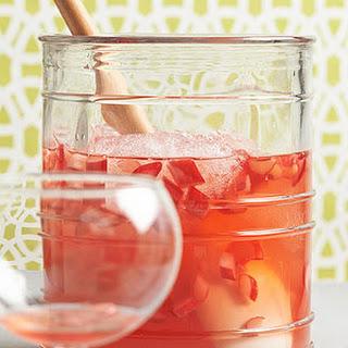 Ruby Rhubarb Lemonade