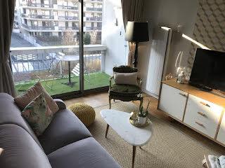 Appartement a louer boulogne-billancourt - 2 pièce(s) - 43 m2 - Surfyn