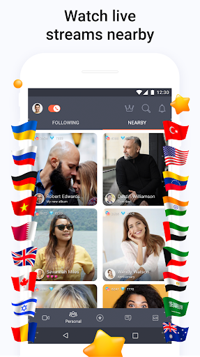 Tango - Live Video Broadcasts and Streaming Chats screenshot 3