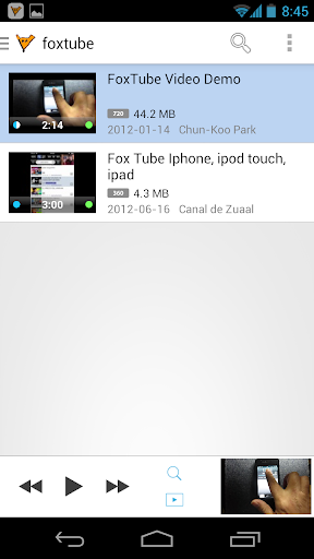 FoxTube - YouTube Player  screenshots 1