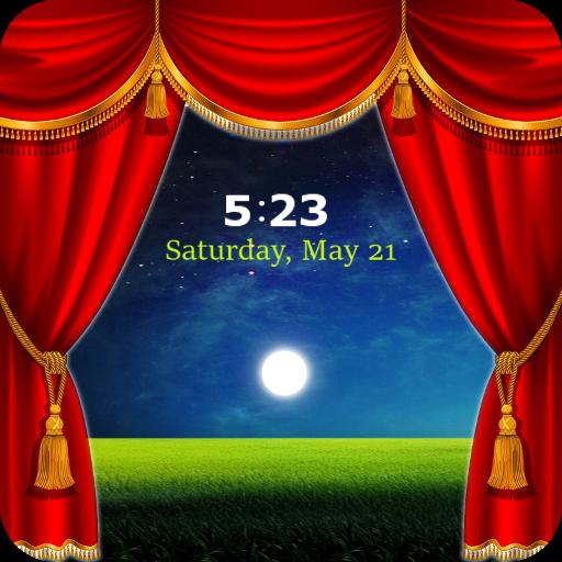 Curtain Lock Screen