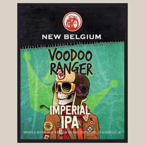 Logo of New Belgium Voodoo Ranger Imperial IPA