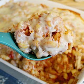 Gluten-Free Chicken Pasta Bake.