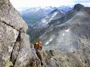 Photo: pendant ce temps la, une partie de l'équipe a rejoint la Norvège, et a passé quelques jours à grimper à Kvaloya