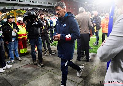 """Mazzu après les perturbations dans le derby du Limbourg: """"Ce n'est pas une excuse pour les buts que nous avons encaissé"""""""