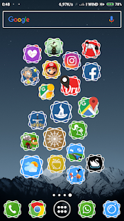 Merlin Icon Pack Screenshot