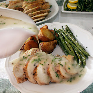 Velouté Sauce with Garlic and Herbs