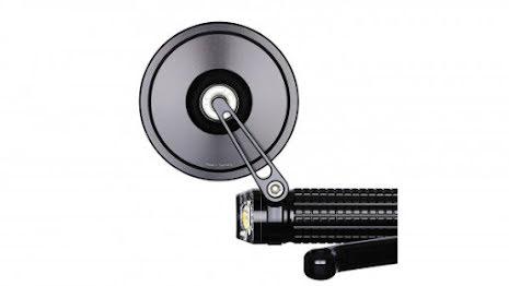 motogadget mo.view street, glassless handlebar end mirror, E-examined