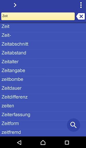 German Thai dictionary