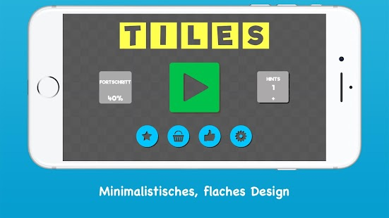 Tiles: Rotierendes puzzle Screenshot