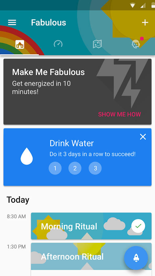 Fabulous: Motivate Me! Meditate, Relax, Sleep- screenshot