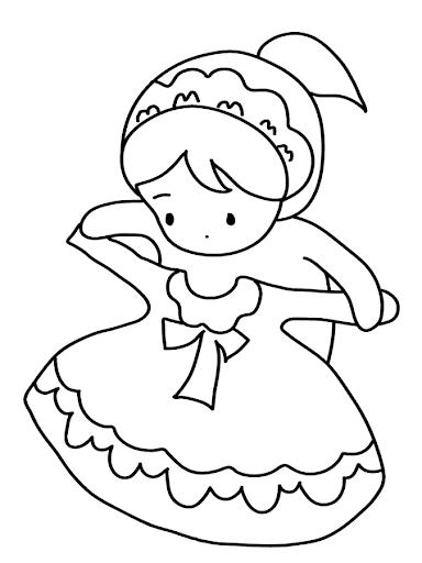 玩教育App|画可爱的公主的洋娃娃免費|APP試玩