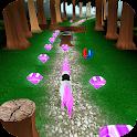 Unicorn Dash: Jungle Run 3D HD icon