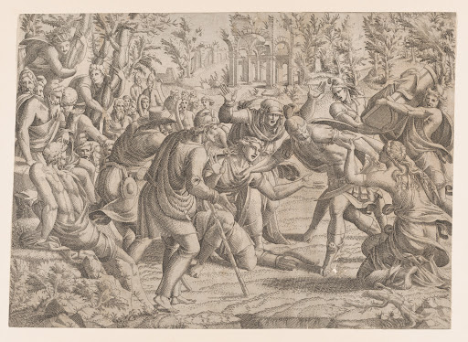 The Treacherous Sinon Brought into the Trojan's Camp by the Shepherds