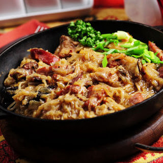 Bigos (Halychyna recipe)