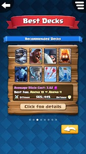 Best Decks for Clash Royale - náhled