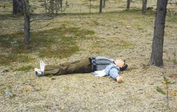 Photo: Kalle nauttii Enontekiön luonnosta