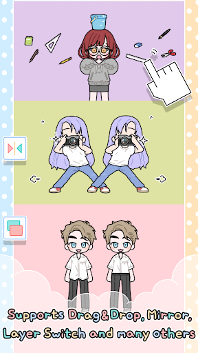 Pastel Friends : Dress Up Game 1.2.4 screenshots 3