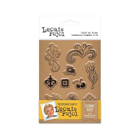 Leonie Pujol Clear Stamp - Flower Burst UTGÅENDE