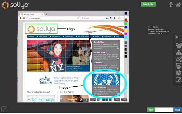 Soliya Screensharing