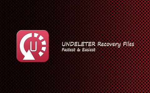 Undeleter Recover Files screenshot 0