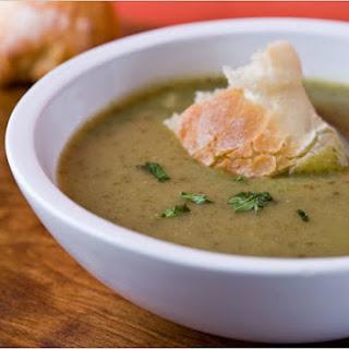 Lettuce and Potato Soup
